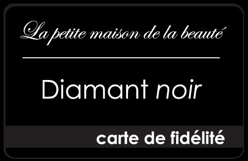 carte de fidélité diamant noir