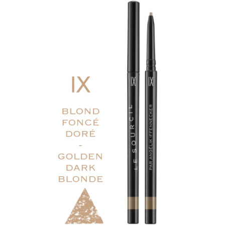 LE-SOURCIL-IX.BLOND-FONCE-DORE-GOLDEN-DARK-BLONDE